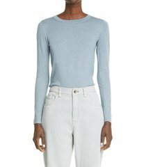 brunello cucinelli cashmere blend sweater, size x-small in pastel leaf at nordstrom