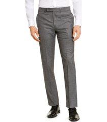 calvin klein men's slim-fit stretch dress pants