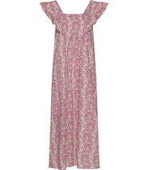 layla dress knälång klänning rosa nué notes