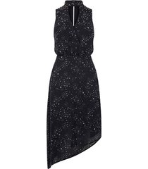 midi-jurk met sterrenprint