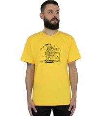 camiseta ventura polarbears amarelo - amarelo - masculino - dafiti
