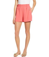 women's gibson x the motherchic harborside shorts, size xx-large - coral