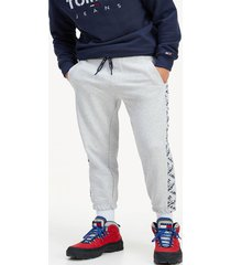 jogger corp logo gris tommy jeans