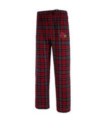 concepts sport men's louisville cardinals parkway plaid pajama pants