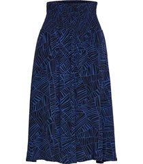 sondra skirt knälång kjol blå masai