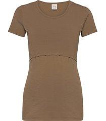 classic short-sleeved top t-shirts & tops short-sleeved brun boob