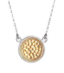 women's anna beck gili reversible disc pendant necklace