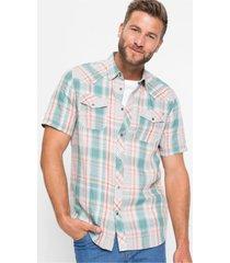 duurzaam overhemd met korte mouwen