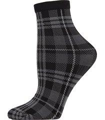 perfect plaid ankle socks