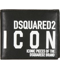 dsquared2 new icon bifold wallet
