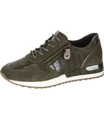 sneakers remonte khaki::silvergrå