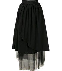 andrea bogosian ralph couture tulle skirt - black