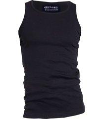 semi bodyfit singlet black
