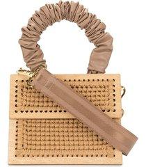 0711 copacabana purse tote - brown