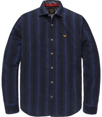 pme legend psi206209 5288 long sleeve shirt corduroy with stripe blue