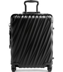 tumi 19 degree 22-inch continental wheeled aluminum carry-on - black
