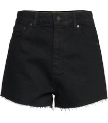 ruby cut off short shorts denim shorts svart superdry