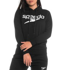 buzo hoodie classic logo femenino