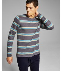 and now this men's striped long sleeve t-shirt
