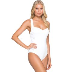 jets by jessika allen parallels infinity swimsuit white