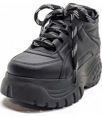 zapatilla negra duo bai ss 21-3005