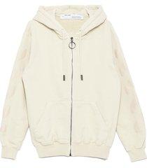off-white diag hoodie
