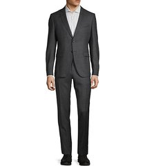 extra slim-fit wool suit