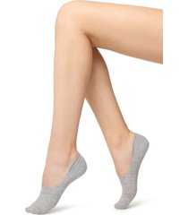 calzedonia invisible high cut socks woman grey size 34-36