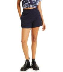 culpos x inc high-waist shorts, created for macy's
