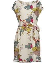 heather ava dress korte jurk multi/patroon mos mosh