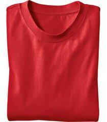 ecologisch t-shirt voor hem & haar, rood s