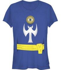 fifth sun marvel women's doctor strange costume short sleeve tee shirt