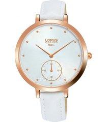 reloj blanco lorus by seiko