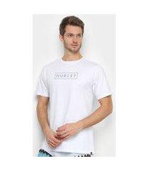 camiseta hurley silk boxed benzo masculina