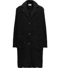 balma teddy coat- min 4 pcs outerwear faux fur svart kaffe