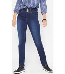 slim fit corrigerende super stretch jeans