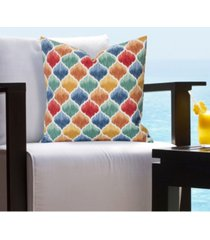 """siscovers tide pool indoor/outdoor decorative pillow, 20"""" x 20"""""""