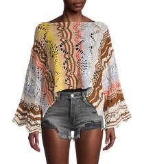 coral reef pullover