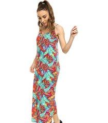 vestido azul dìselo lenka tropical