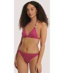 trendyol bikiniunderdel med ringdetalj - pink