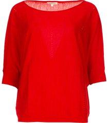 klassieke trui adams  rood