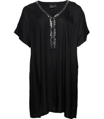 stomoko, beach dress beach wear svart zizzi
