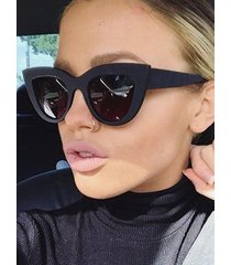 animal eye shape full frame sunglasses