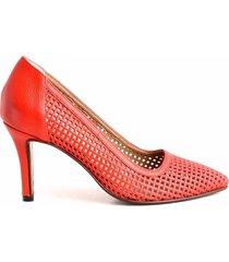 zapato rojo briganti mujer adelfa