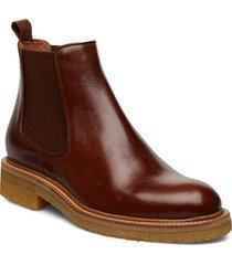 boots 17440 stövletter chelsea boot brun billi bi