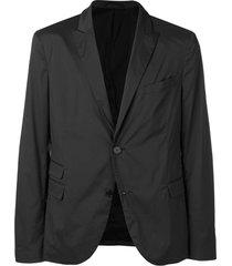 neil barrett blazer com abotoamento simples - preto