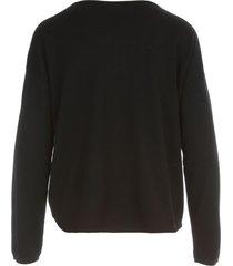 aspesi boat neck l/s sweater