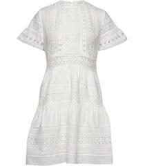 felice dress kort klänning vit by malina
