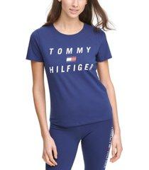 tommy hilfiger sport slim-fit logo t-shirt