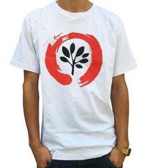 camiseta pgs logo masculina
